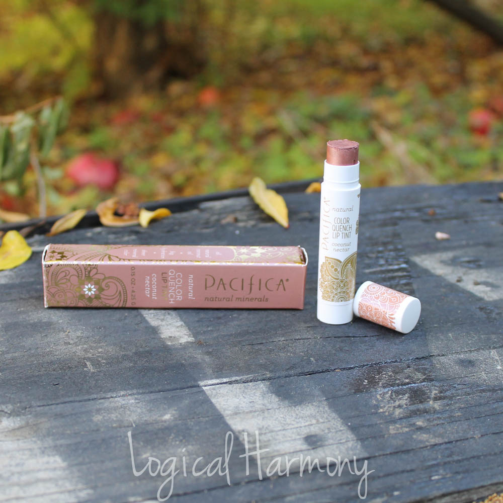 Pacifica Color Quench Natural Lip Tint in Coconut Nectar