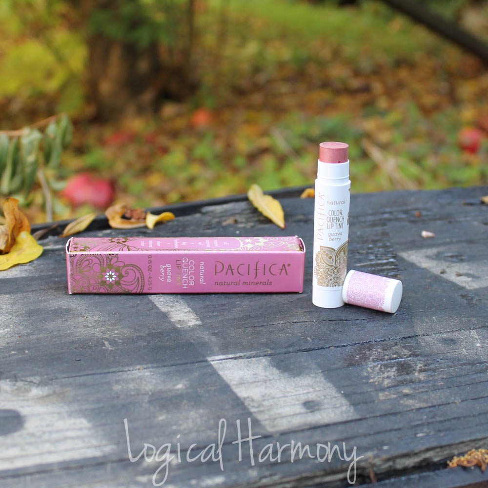 Pacifica Color Quench Natural Lip Tint in Guava Berry