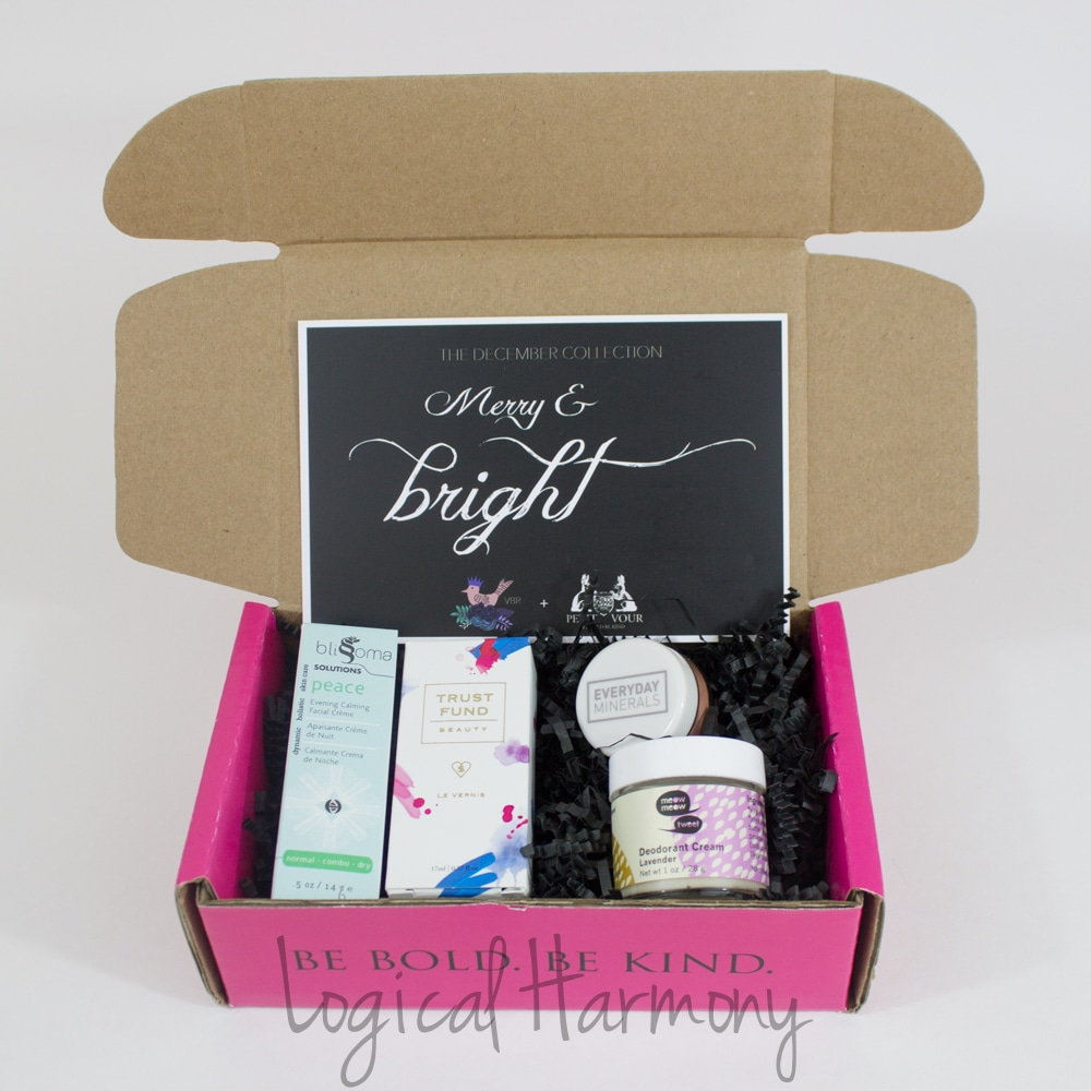 Petit Vour December Beauty Box Review