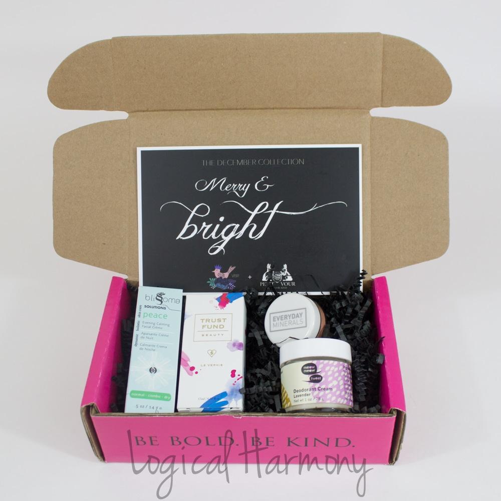Petit Vour December Beauty Box Review