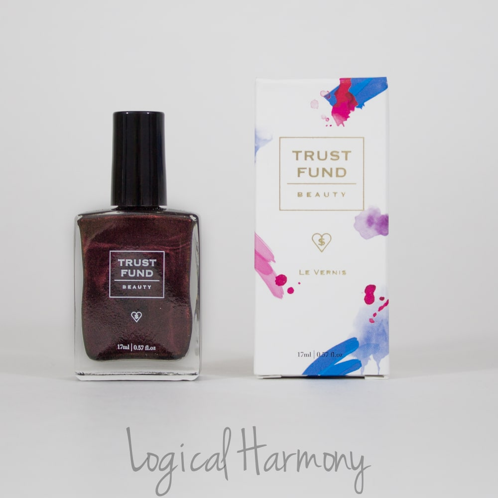 Petit Vour December Beauty Box Review - Trust Fund Beauty Nail Lacquer in Just Talk to My Lawyer
