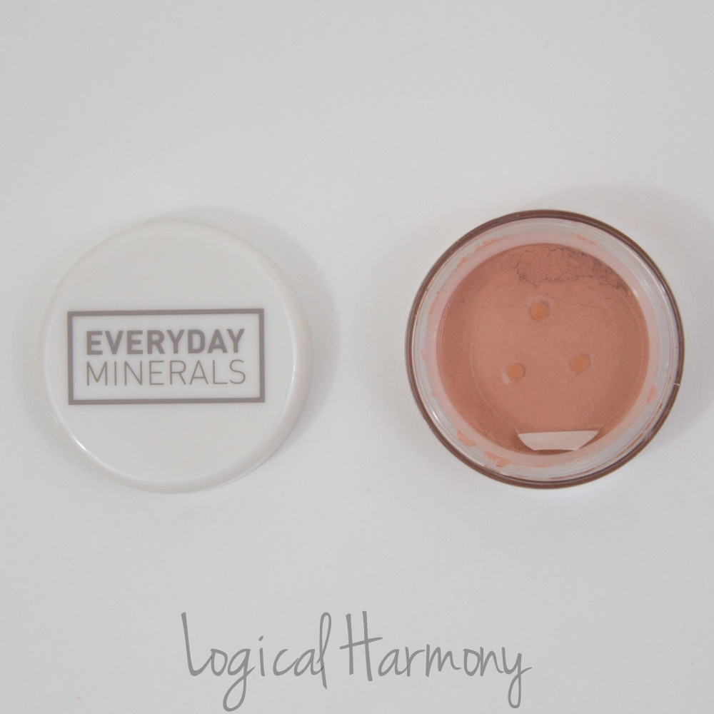 Petit Vour December Beauty Box Review - Everyday Minerals Matte Blush in All Smiles