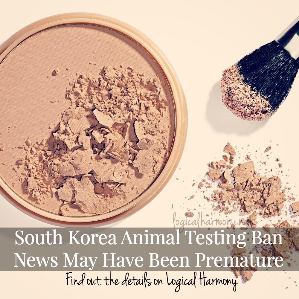 South Korea Animal Testing Ban News May Have Been Premature
