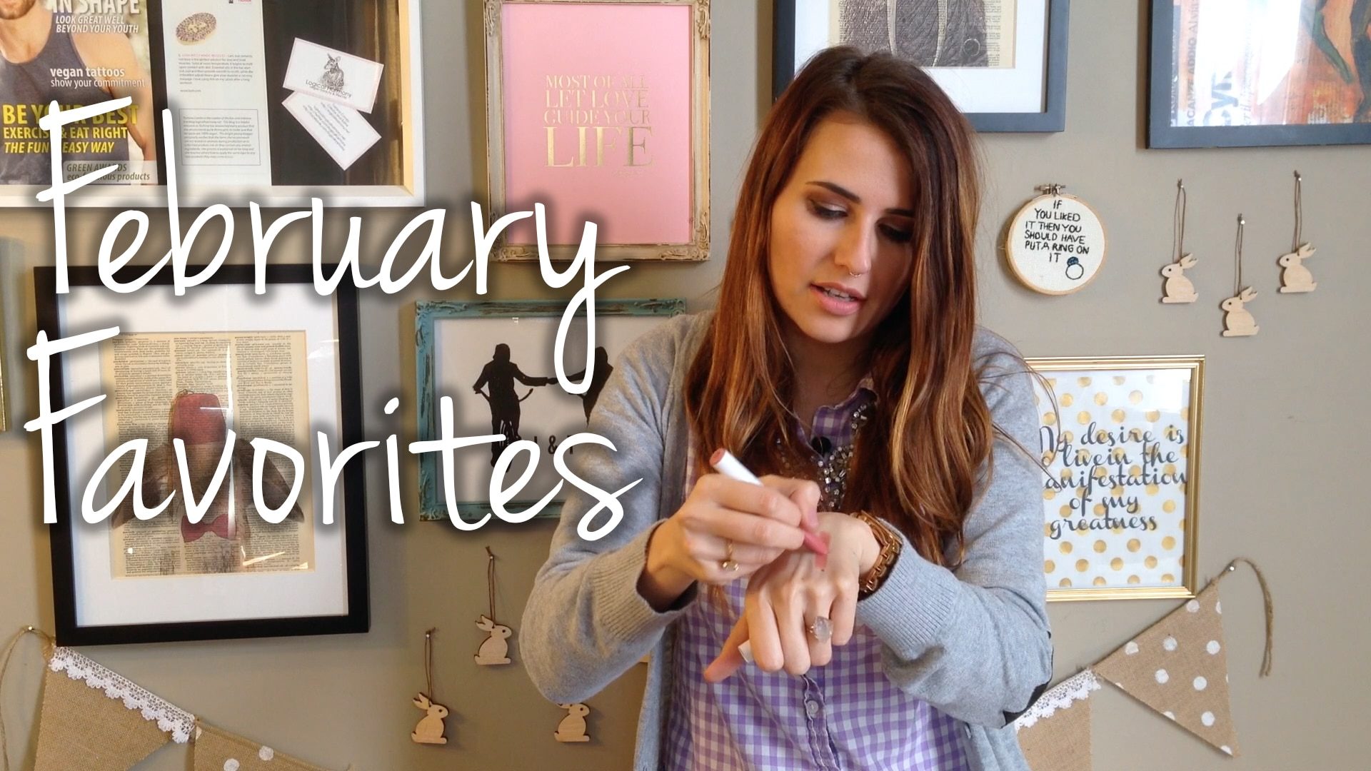 February Favorites Video