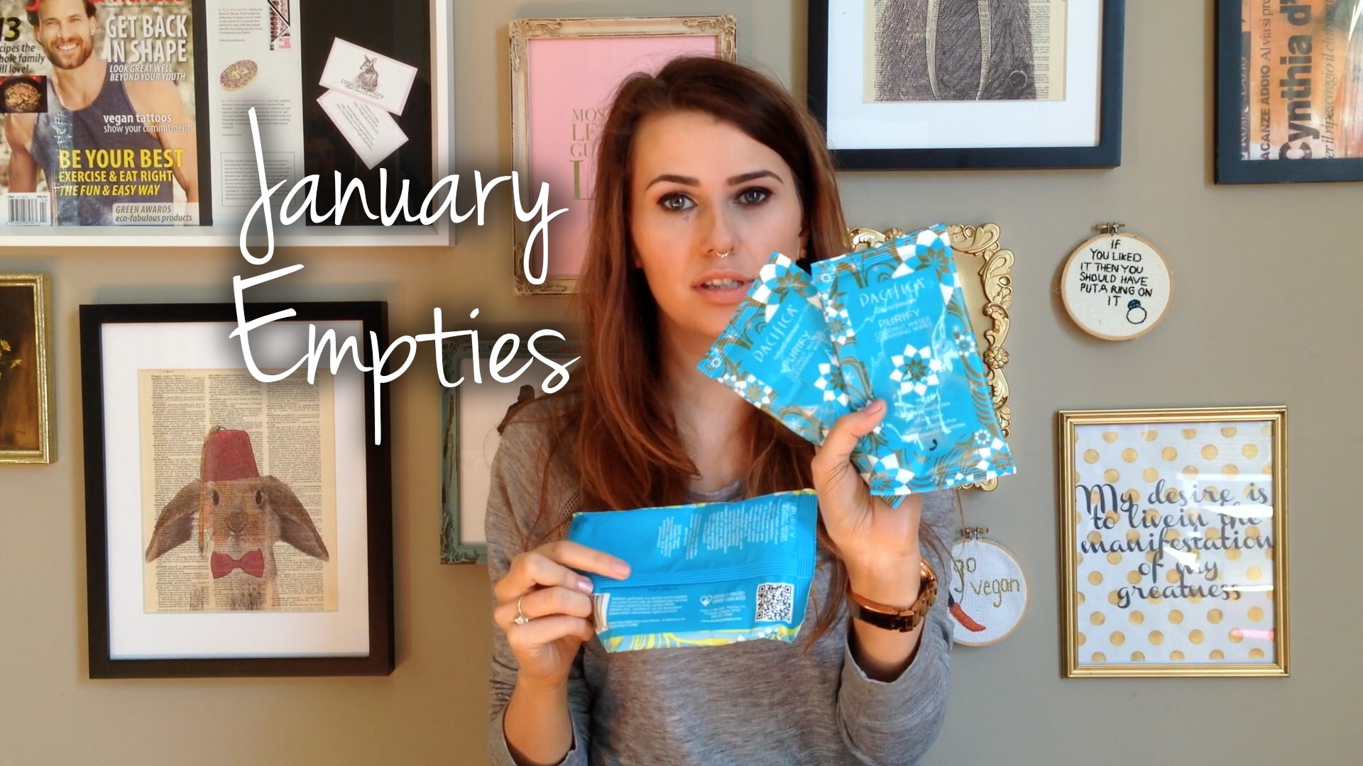 January Empties Video