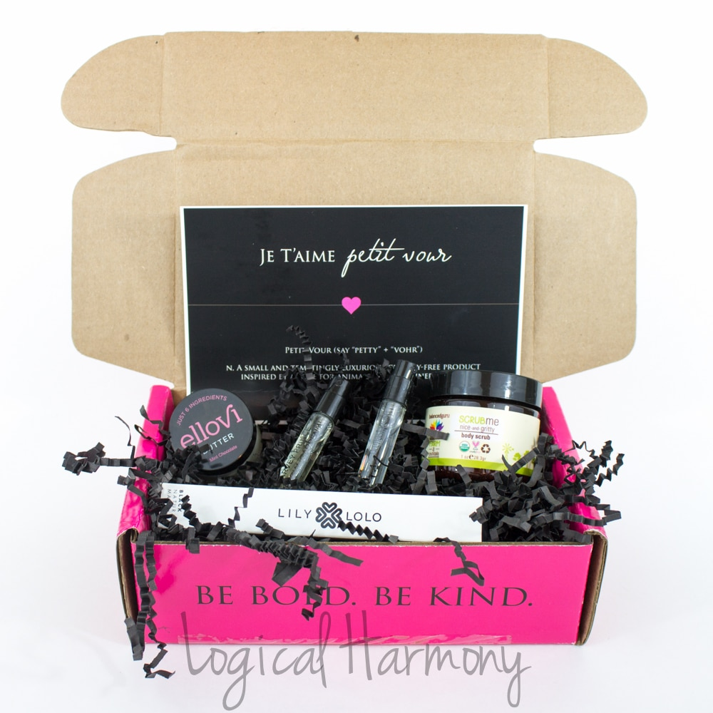 Petit Vour February 2015 Beauty Box Review