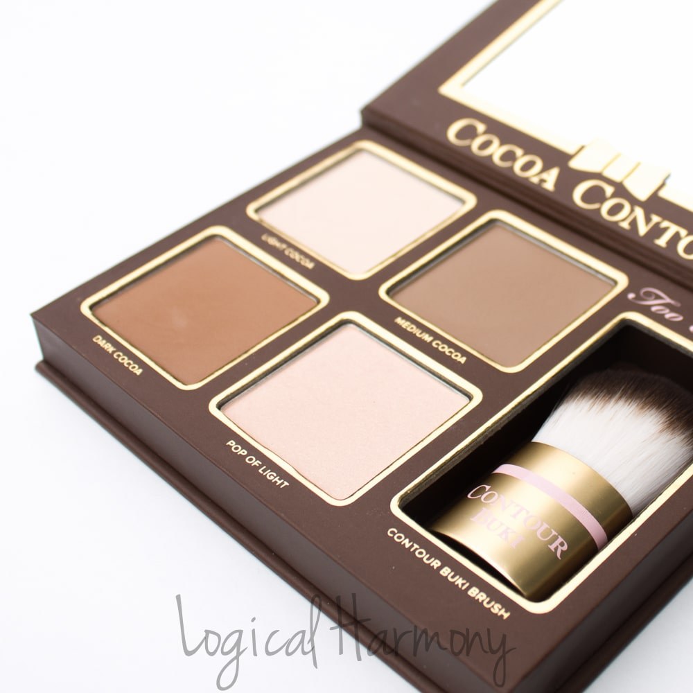 too faced cocoa contour palette review logical harmony. Black Bedroom Furniture Sets. Home Design Ideas