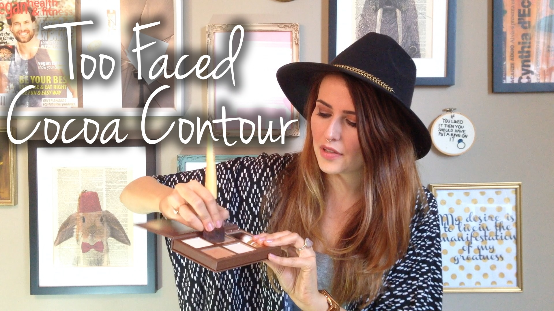 Too Faced Cocoa Contour Palette First Impressions & Swatches Video