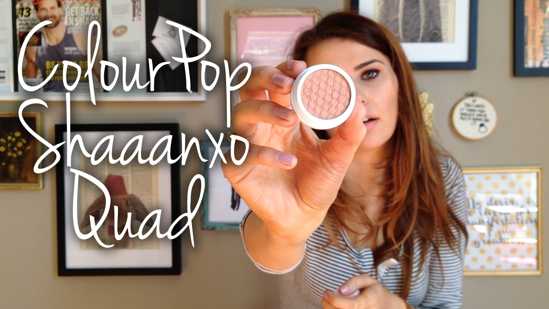 ColourPop x Shaaanxo Quad First Impressions & Swatches Video
