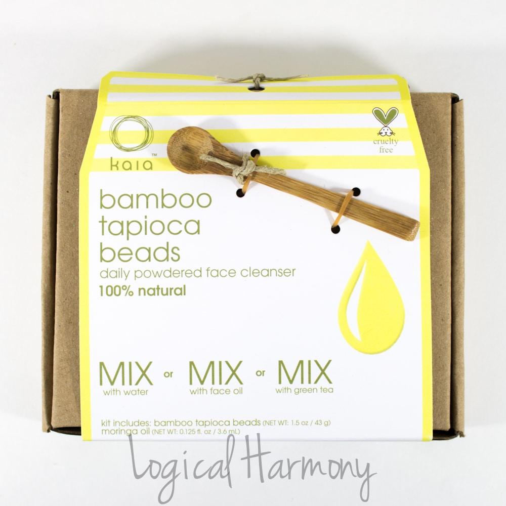 Kaia Naturals Bamboo Tapioca Beads Cleansing Kit Review