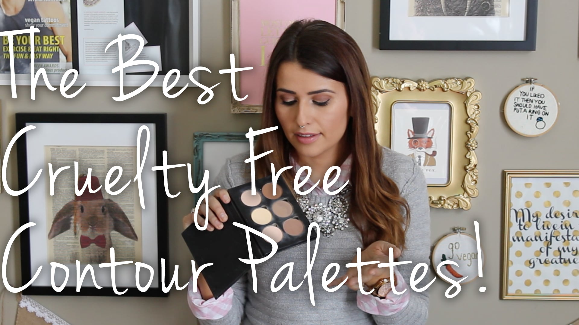 The Best Cruelty Free Contour Palettes Video