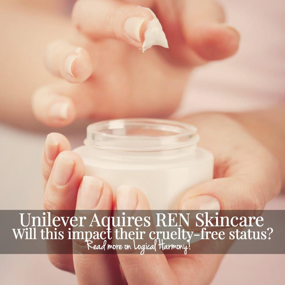 Unilever Acquires REN Skincare - Will This Impact Their Cruelty Free Status?