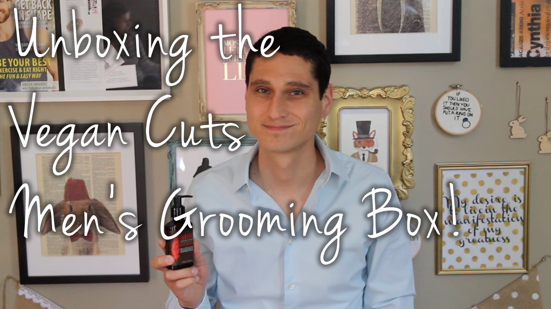 Vegan Cuts Men's Grooming Box First Impressions VideoVegan Cuts Men's Grooming Box First Impressions Video