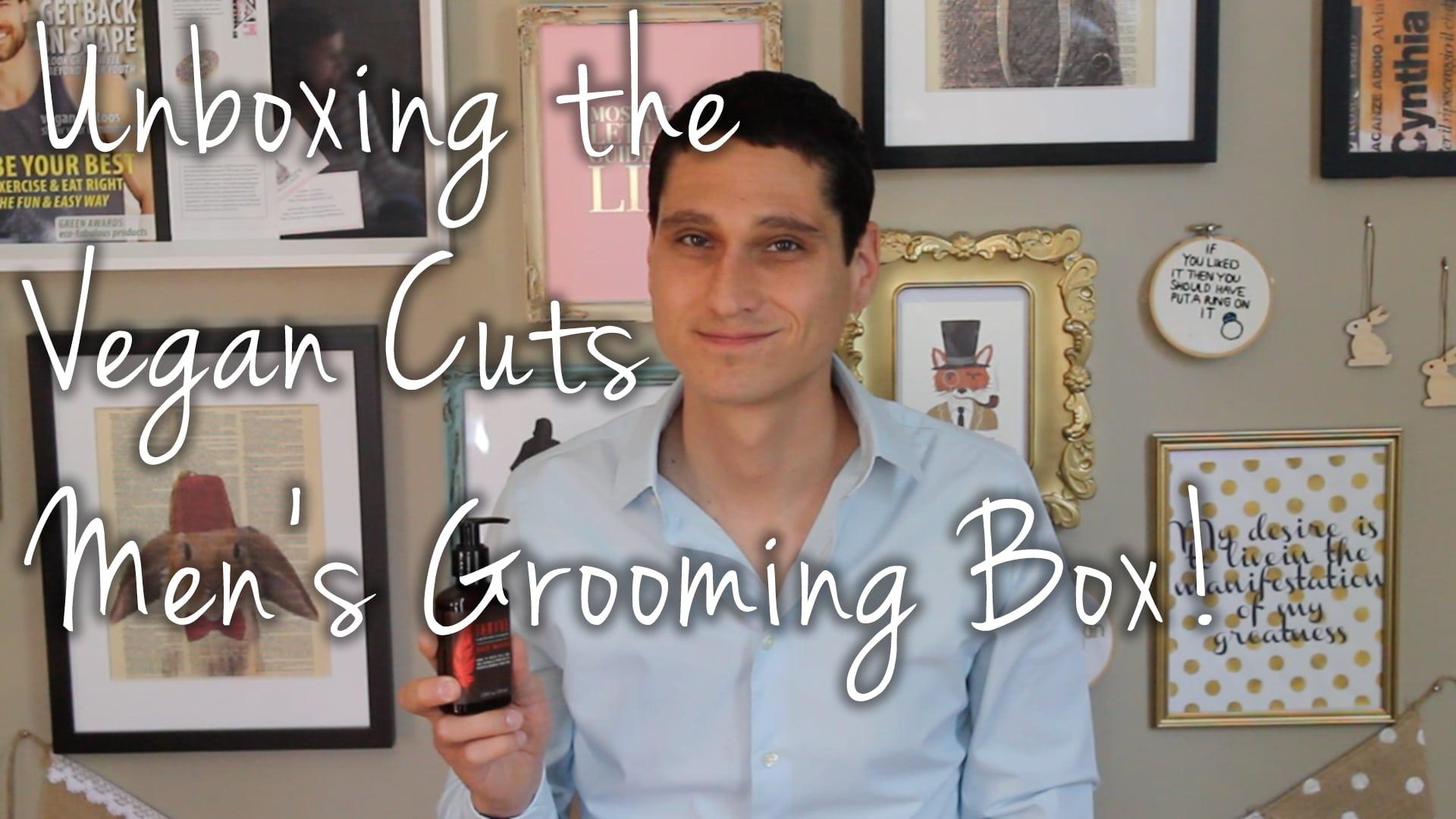 Vegan Cuts Men's Grooming Box First Impressions VideoVegan Cuts Men's Grooming Box First Impressions Video