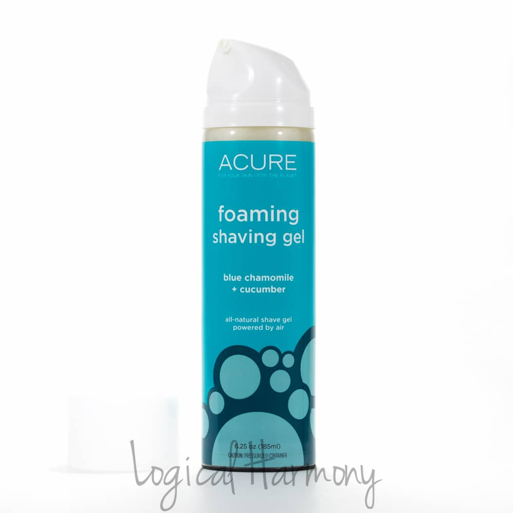 Acure Organics Foaming Shave Gel Review