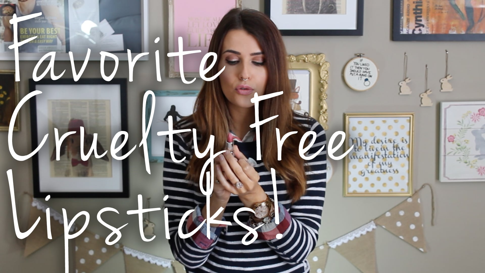 My Favorite Cruelty Free Lipstick Brands Video