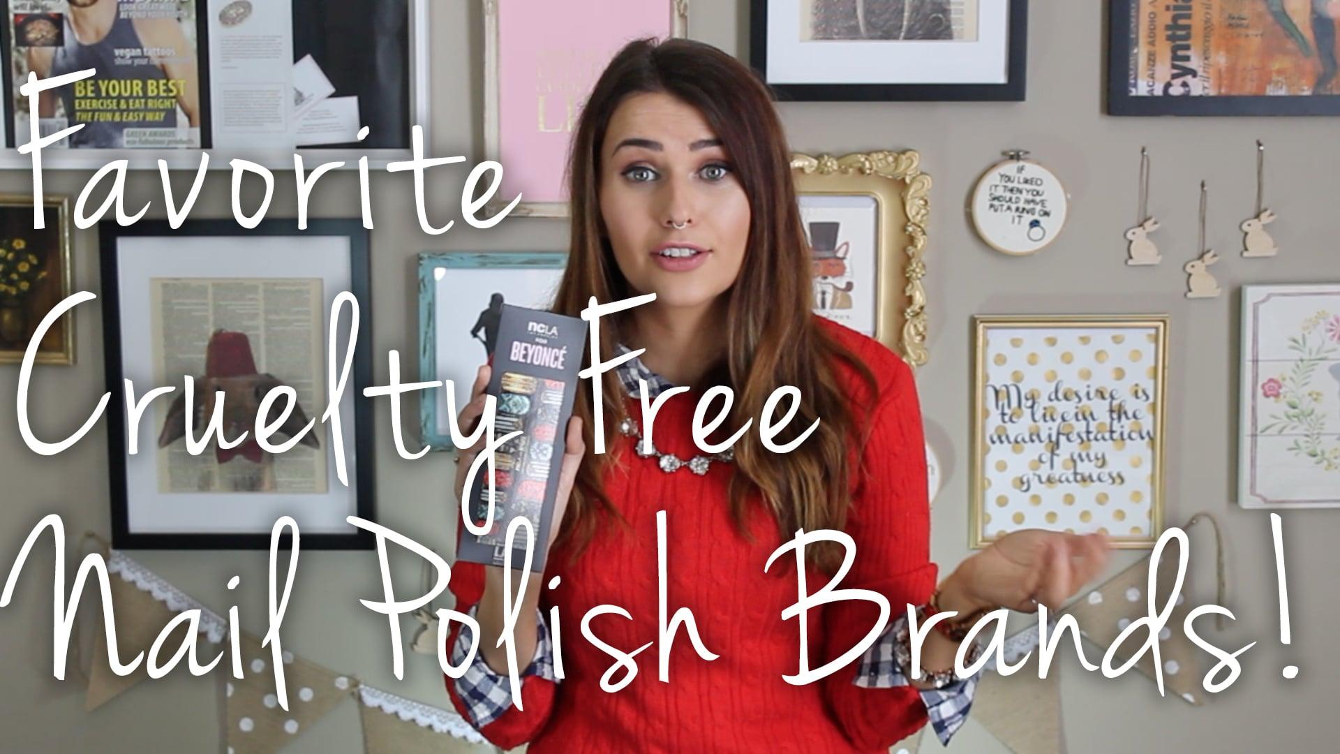 My Favorite Cruelty Free & Vegan Nail Polish Brands