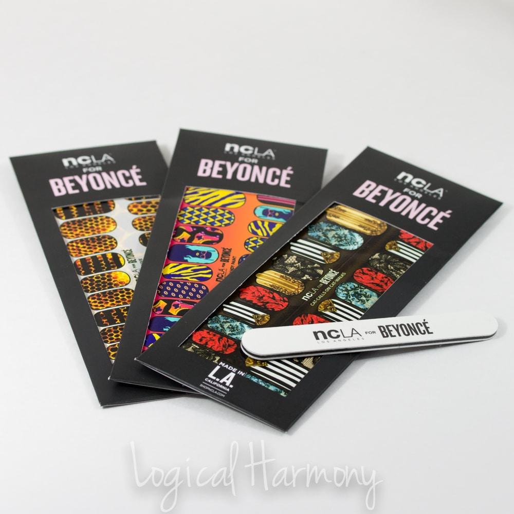 NCLA for Beyoncé Nail Wraps