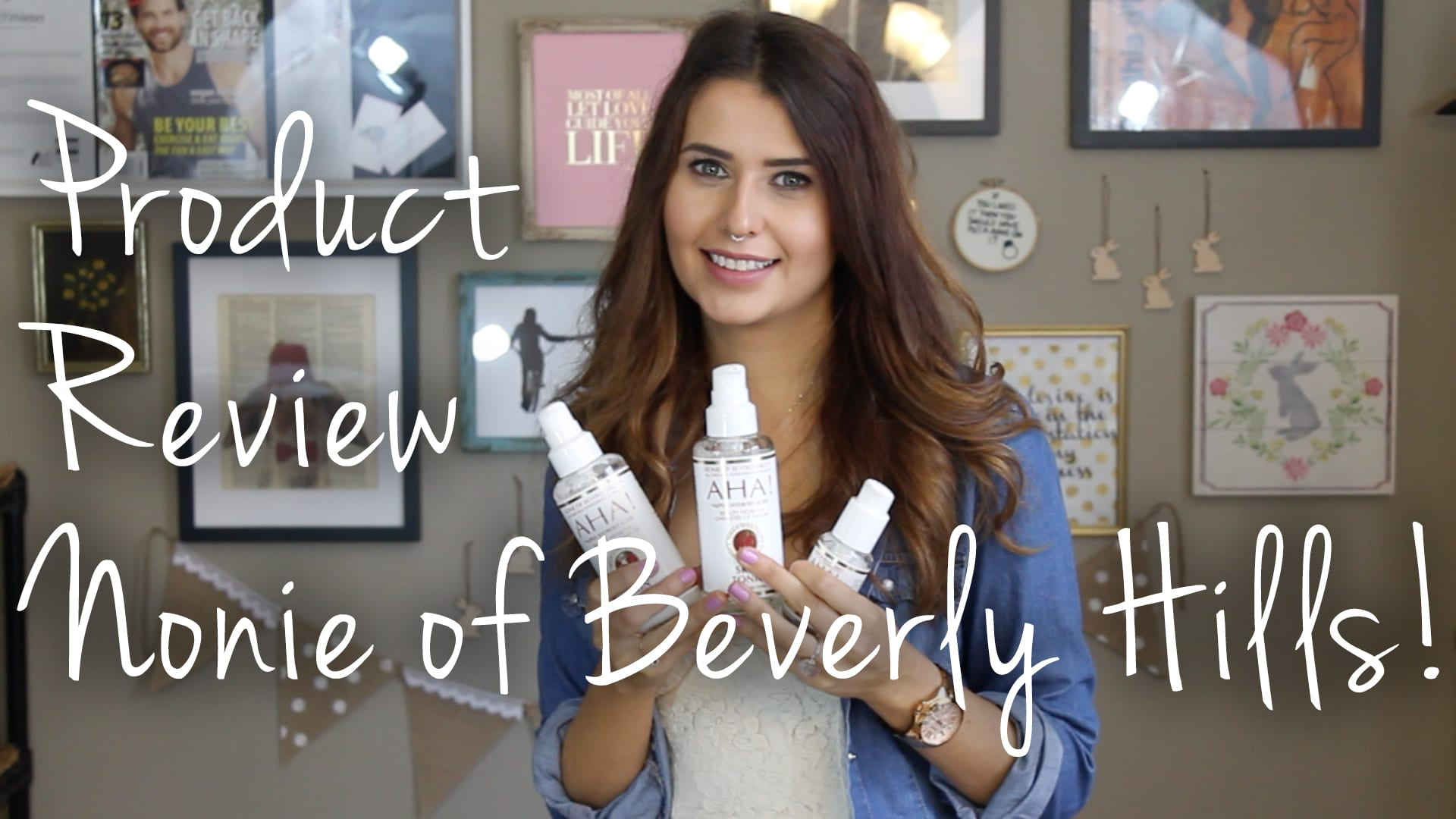 Nonie of Beverly Hills Skin Care Video
