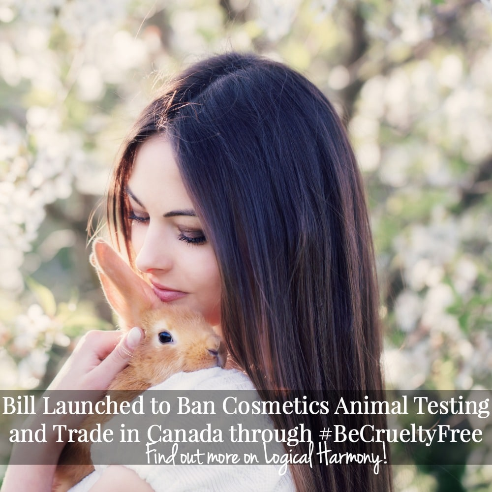 Bill Launched to Ban Cosmetics Animal Testing and Trade in Canada through #BeCrueltyFree