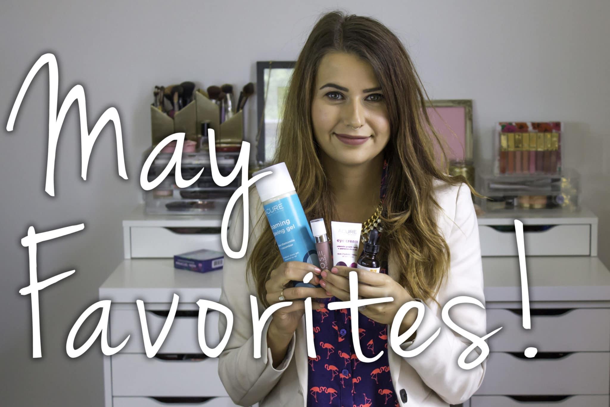 May Favorites 2015 Video