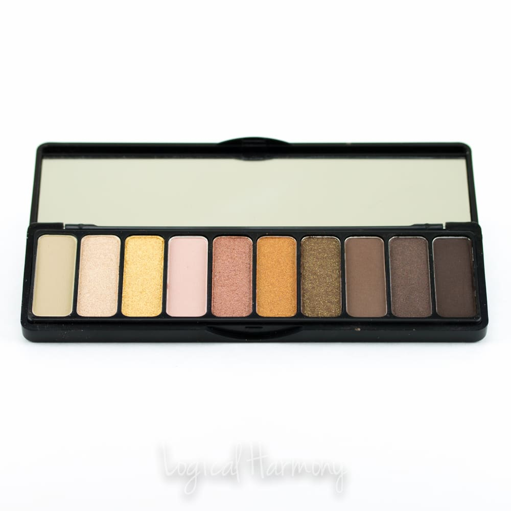 ELF Need It Nude Eyeshadow Palette Review