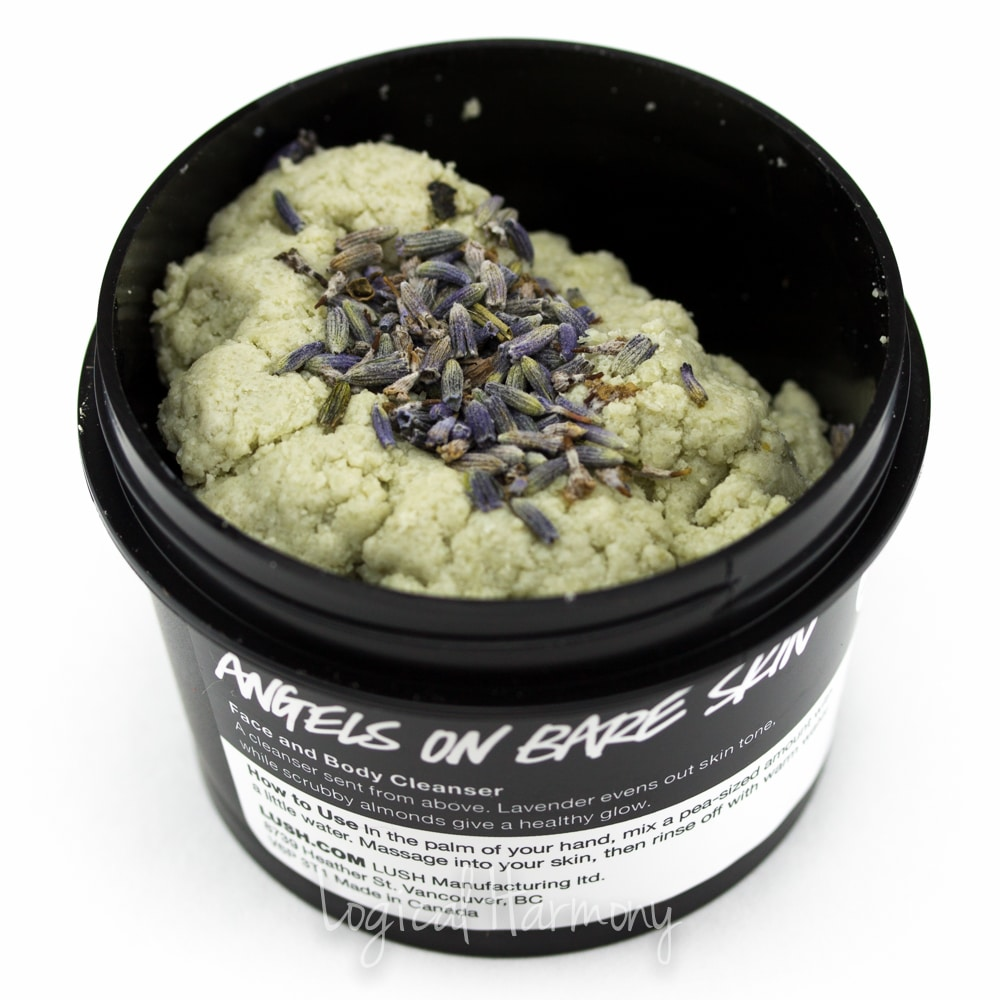 Lush Angels on Bare Skin Cleanser Review