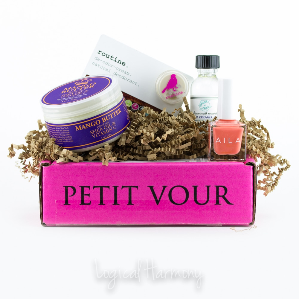 Petit Vour July 2015 Beauty Box Review