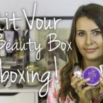 Petit Vour July 2015 Beauty Box Video