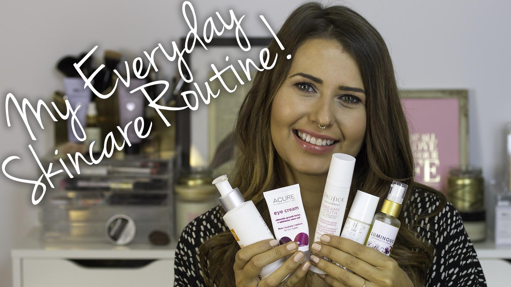 My Current Cruelty Free & Vegan Skincare Routine Video