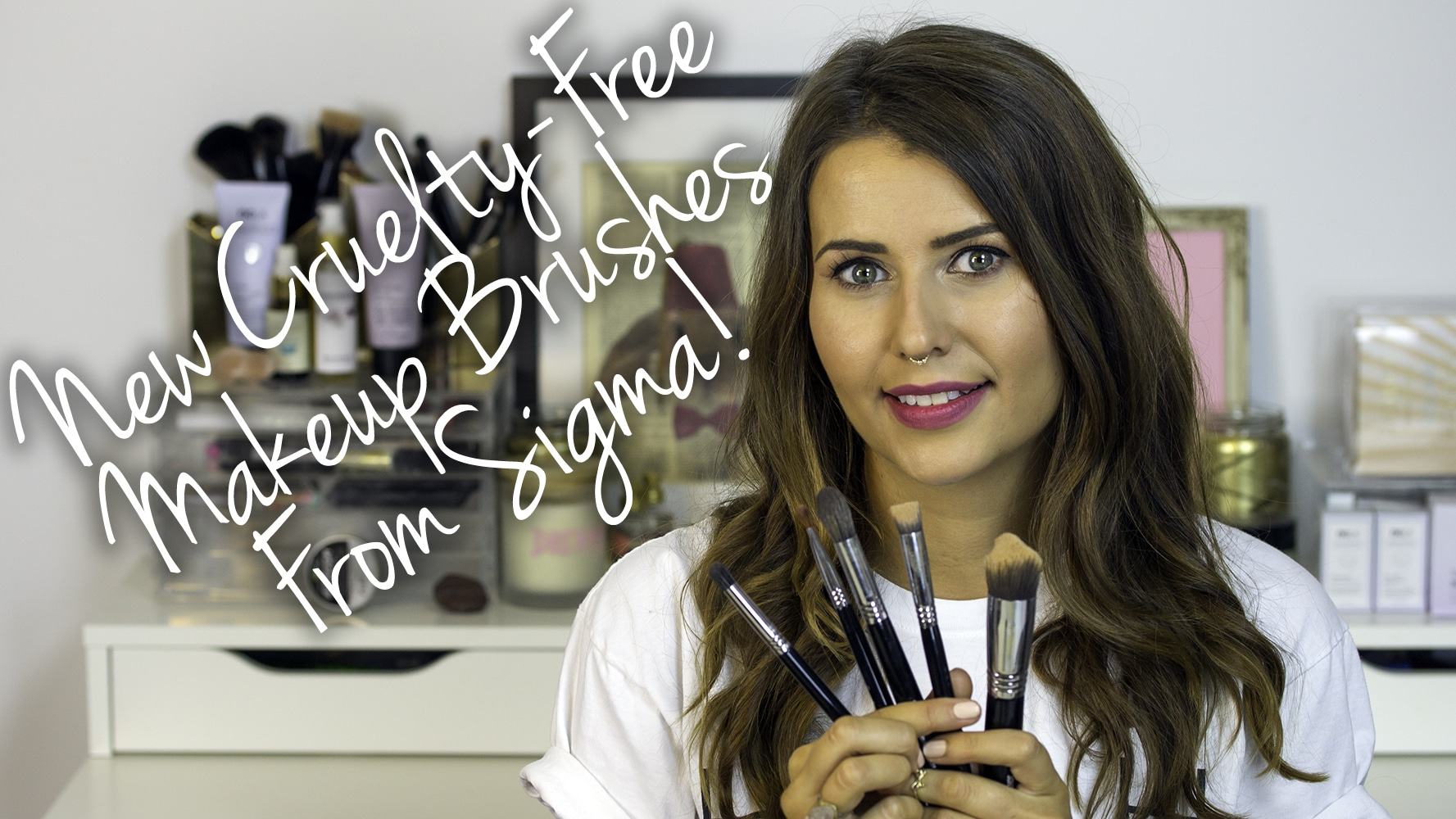 New Cruelty Free Makeup Brushes from Sigma Video
