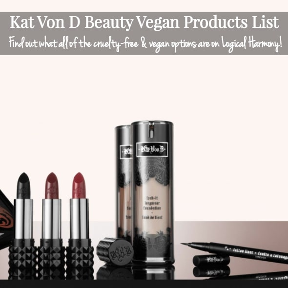 Updated Kat Von D Beauty Vegan Products List