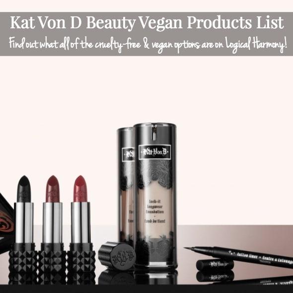 Kat Von D Beauty Vegan Products List