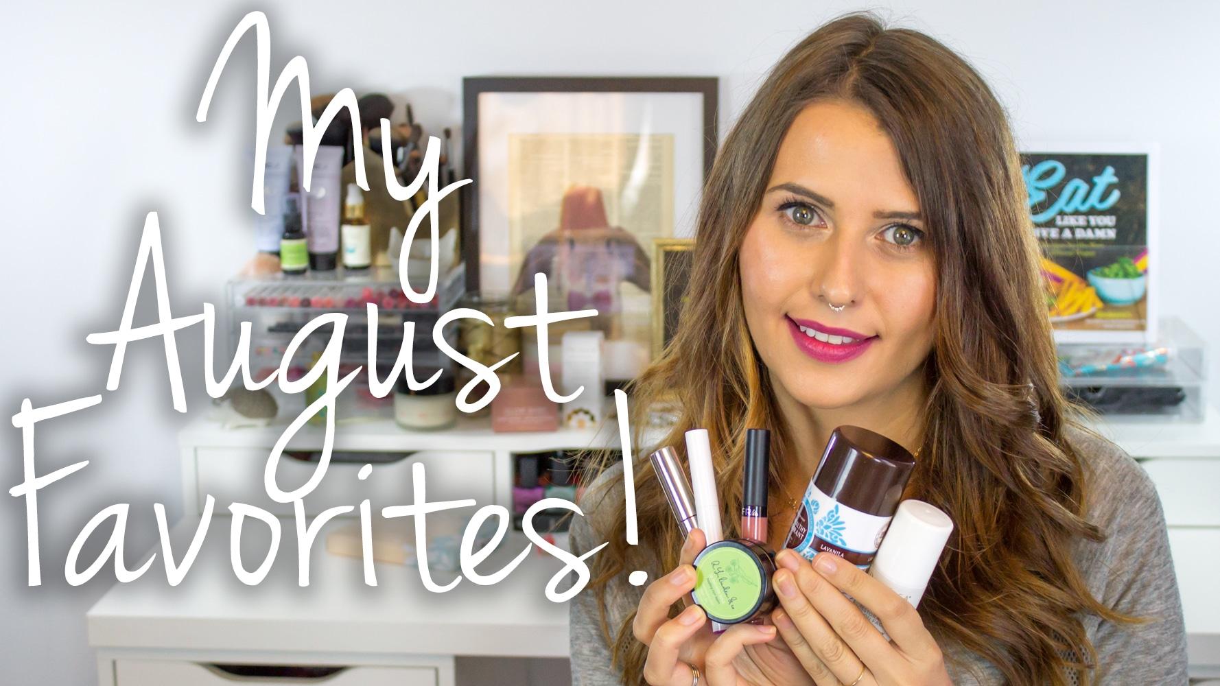 August Favorites 2015 Video