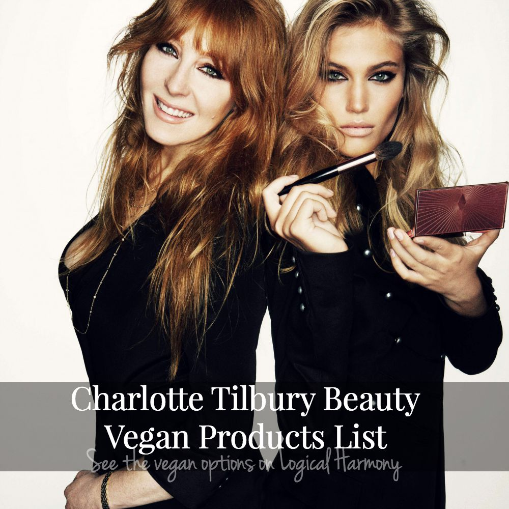 Charlotte Tilbury Beauty Vegan Products List