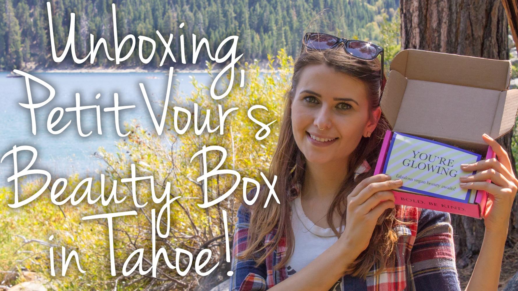 Petit Vour August 2015 Beauty Box Video