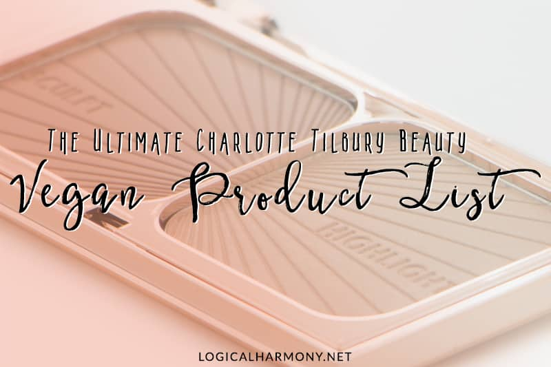 Charlotte Tilbury Vegan Product List