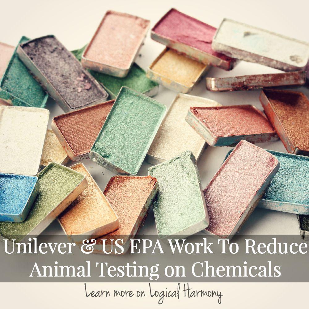 Unilever & US EPA Work To Reduce Animal Testing on Chemicals