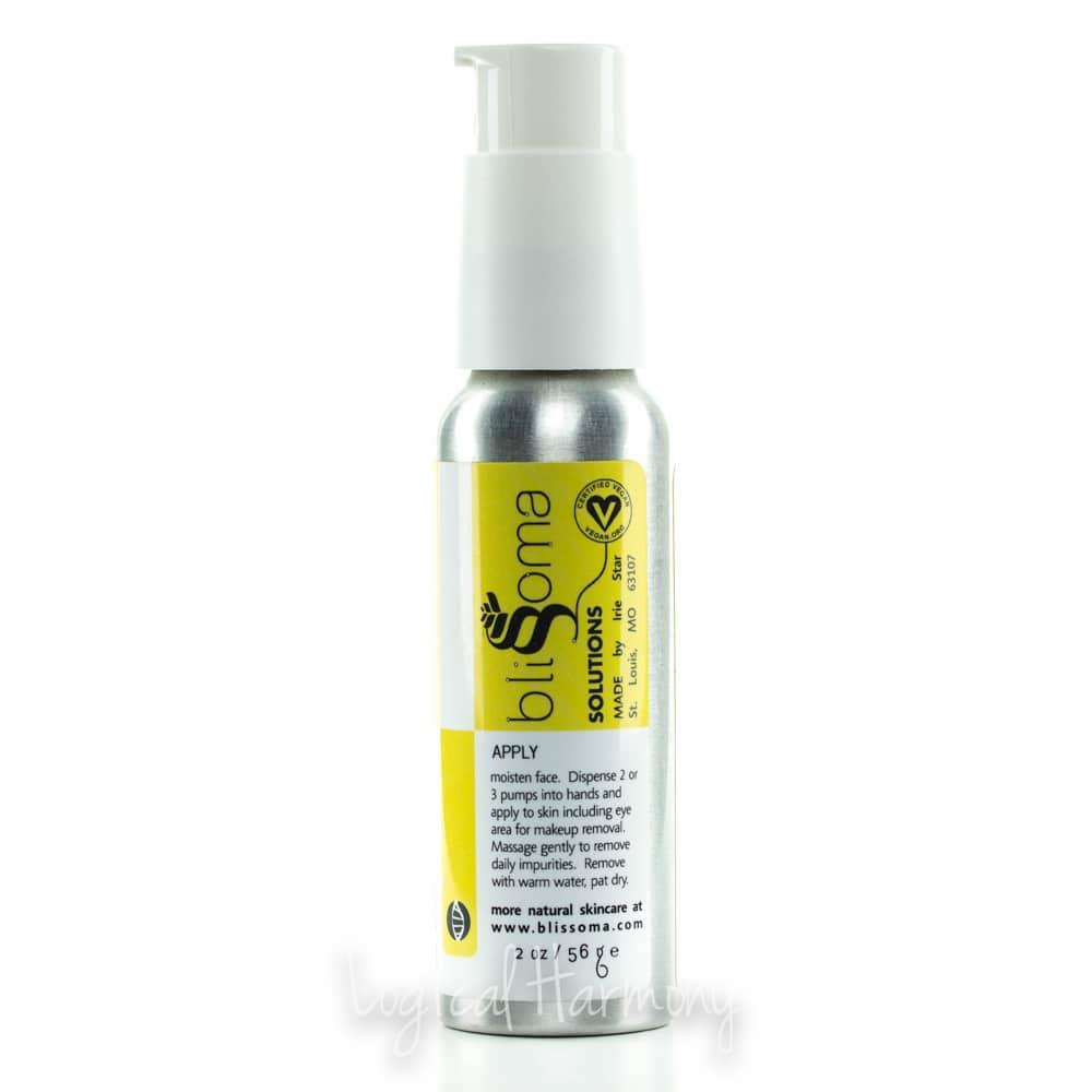 Blissoma Rejuvenating Herbal Gel Cleanser and Makeup Remover Review