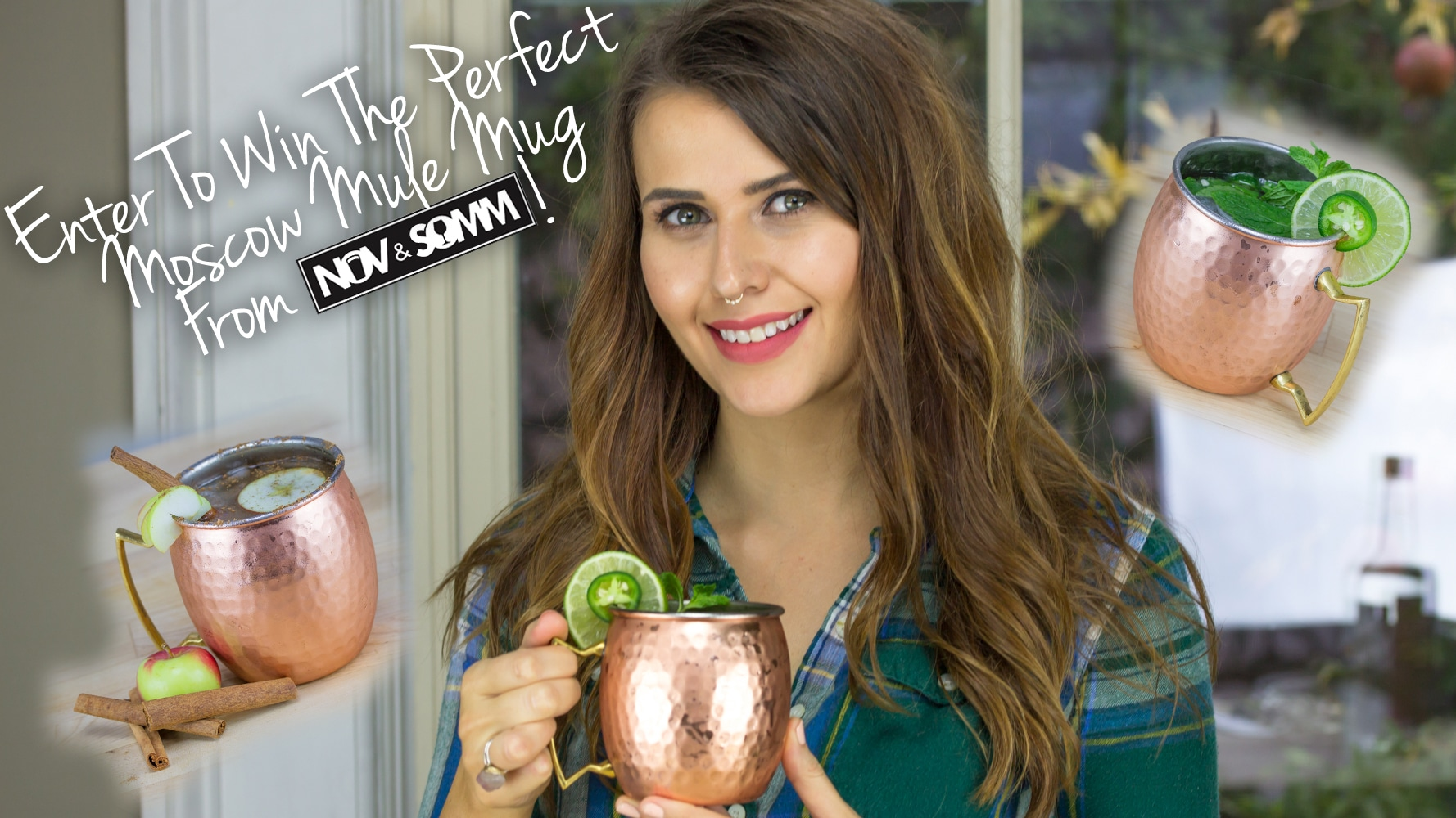 Enter to Win a Perfect Moscow Mule Mug from Nov & Somm!