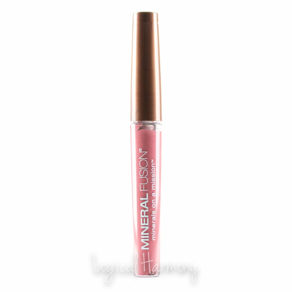 Mineral Fusion Lip Gloss in Lovely Adorable Review