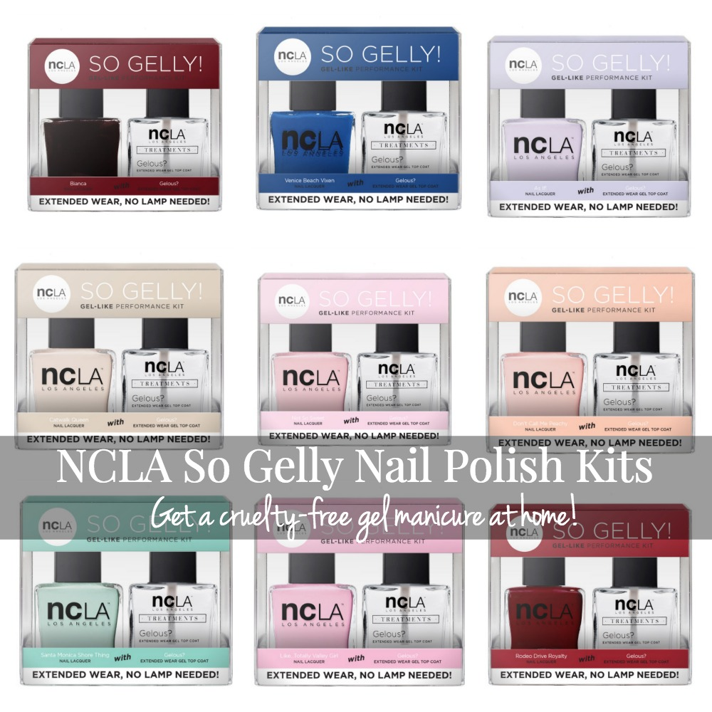 NCLA So Gelly Nail Polish Kits