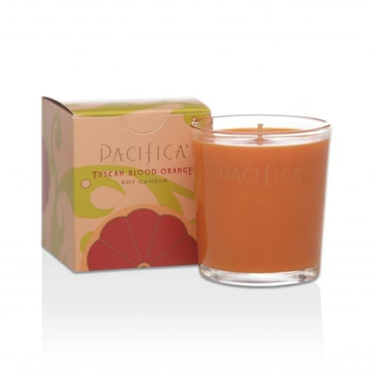 My Favorite Vegan Candles for Fall - Pacifica Tuscan Blood Orange