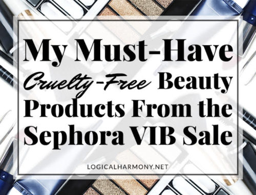 My Must-Have Cruelty-Free Beauty Products from the Sephora VIB Sale