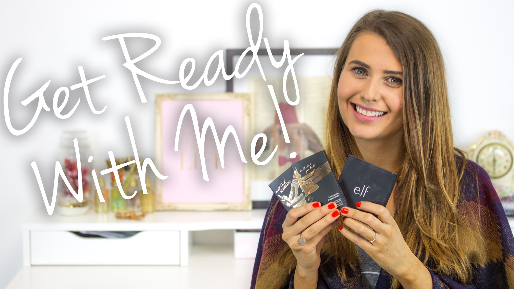 Get Ready With Me - Fall Bronze Eye & Glowing Skin