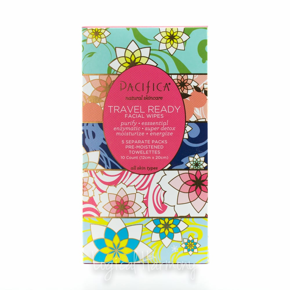 Pacifica Travel Ready Facial Wipes Set Review
