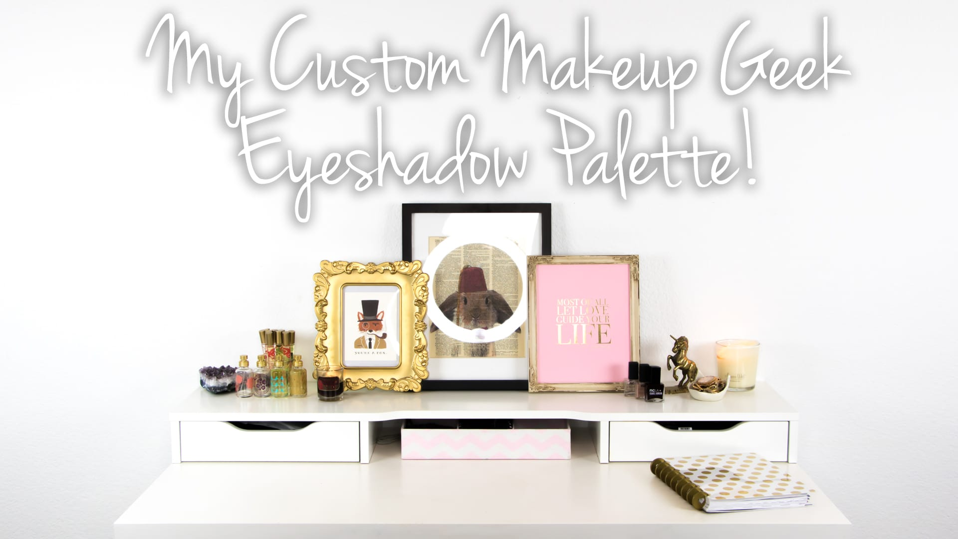 My Custom Makeup Geek Eyeshadow Palette Video