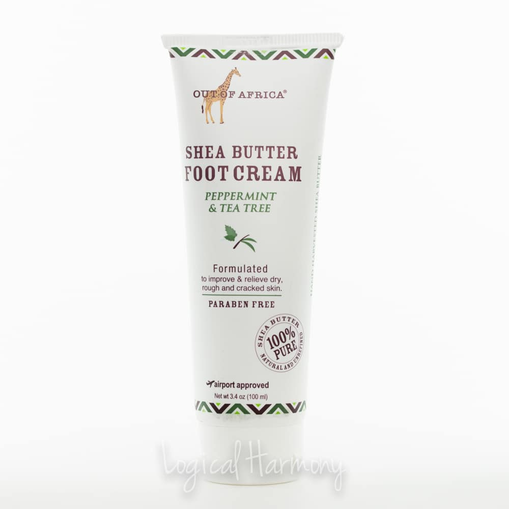 Out of Africa Peppermint & Tea Tree Shea Butter Foot Cream Review