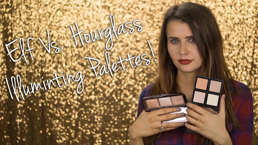 ELF vs Hourglass Illuminating Palettes