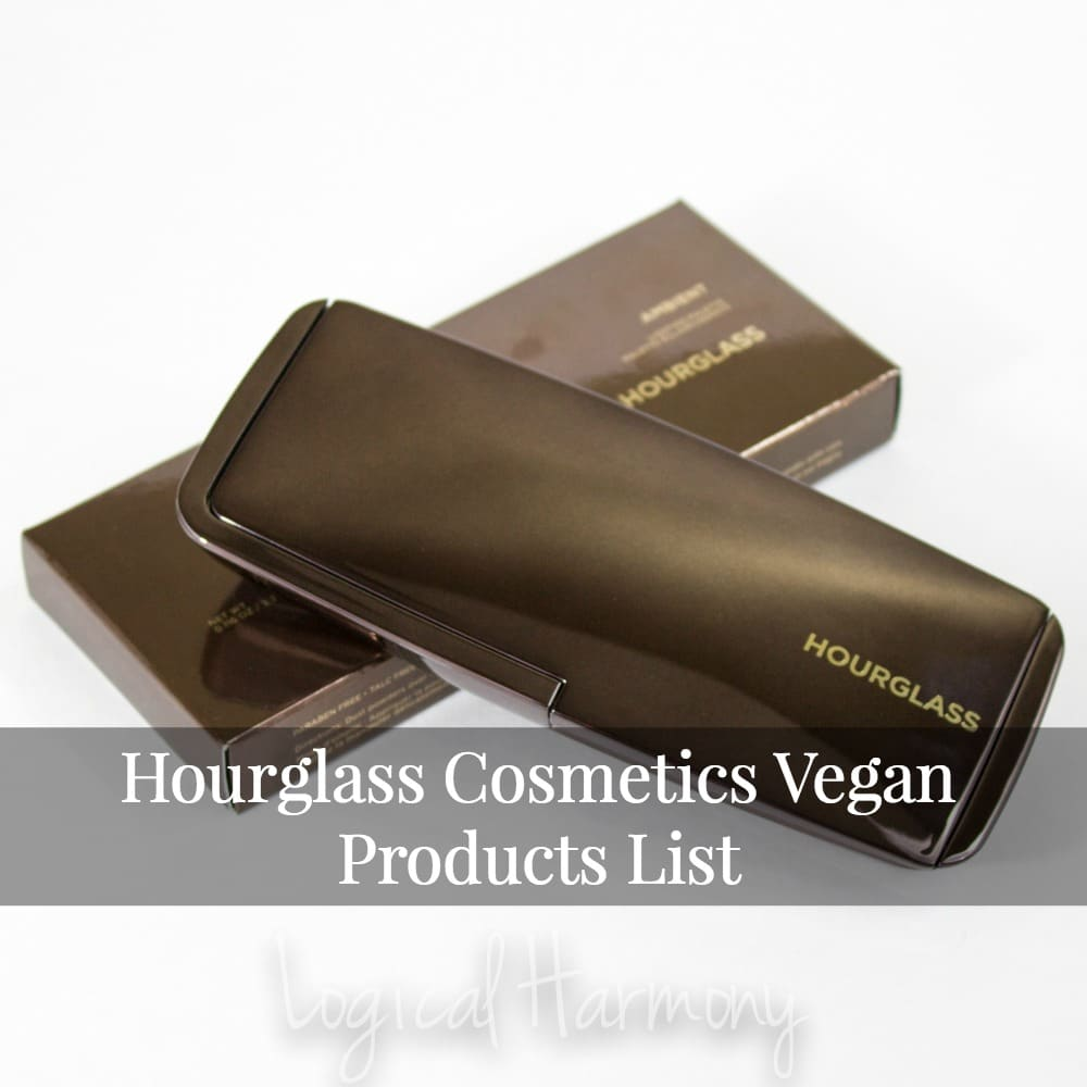 Hourglass Cosmetics Vegan Products List